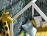 Lit cabane évolutif Capsule blanc + Matelas 90x140