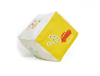 Cube hochet animaux