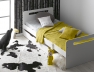 lit enfant volutif blanc f ro avec tiroir et matelas cologique et fabriqu en france. Black Bedroom Furniture Sets. Home Design Ideas