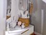 Portant bébé et enfant Evidence Blanc/Hêtre