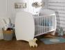 Lit bébé Médéa blanc 70x140