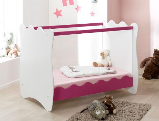Lit bébé Doudou Plexiglas® Prune-chambrekids