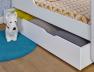 Tiroir lit bébé Madrid blanc