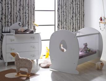 chambre b b compl te et originale chambrekids. Black Bedroom Furniture Sets. Home Design Ideas