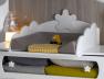 Petite chambre bébé Linéa Barreaux blanc