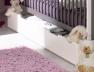 Chambre évolutive bébé Malte Taupe Blanc matelas