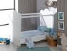 Chambre bébé Linéa blanc lit Plexiglas®