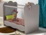 Chambre bébé Linéa sable lin lit Plexiglas®
