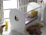 Chambre bébé Lutin blanc lit Plexiglas®
