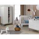 Chambre bébé complète Bonheur Blanc & Lin