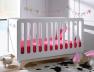 Chambre bébé Bonheur blanc bouleau