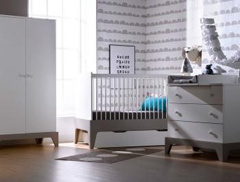 commode paris blanc et gris clair. Black Bedroom Furniture Sets. Home Design Ideas