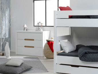 chambre enfant compl te ou petite chambre avec lit simple ou lit superpos chambrekids. Black Bedroom Furniture Sets. Home Design Ideas