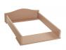 Plan à langer Simba Cappuccino adaptable seulement sur la commode Simba