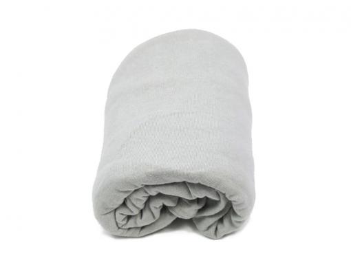 Drap housse gris clair 90x140 cm pour lit enfant volutif Drap housse 90x140