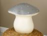 Lampe Veilleuse grand champignon argenté