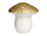 Lampe Veilleuse grand champignon or