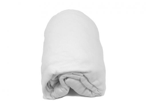 drap housse blanc 90x190 cm pour lit enfant. Black Bedroom Furniture Sets. Home Design Ideas