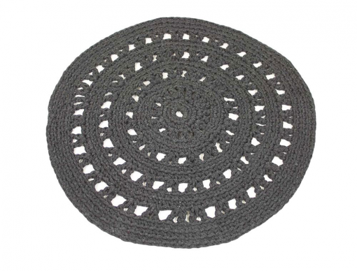 Tapis Holly Anthracite 80cm