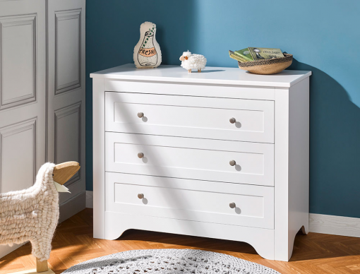 Commode enfant Occitane Blanc