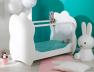 Lit bébé Altéa blanc plexiglas®