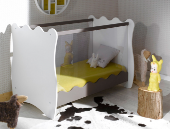 petite chambre b b doudou taupe chambrekids. Black Bedroom Furniture Sets. Home Design Ideas