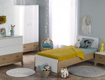 Chambre enfant Archipel Blanc Chêne
