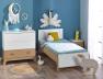 Petite chambre enfant Archipel Blanc Chêne