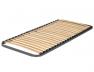 Sommier cadre métallique pour le lit haut.