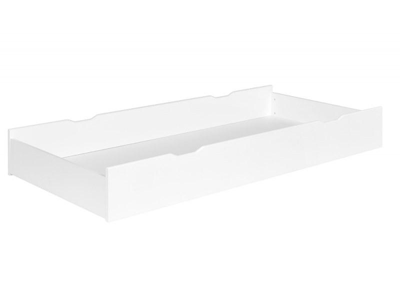 Tiroir du lit enfant Opale Blanc 90x200