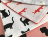 Hochet Girafe cats noir et blanc