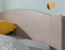 Lit enfant Opale Lin en Pin massif 90x200 + sommier + matelas