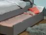Tiroir du lit enfant Opale Gris Flanelle 90x200