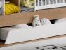 Tiroir blanc pour lit bébé Ecrin