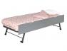 Tiroir gigogne Melbourne pour lit enfant Opale 90x200 gris satelitte