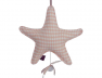 Suspension musicale Star Arlequin Rose