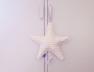 Suspension musicale Star Arlequin Rose
