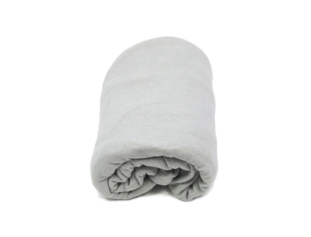Drap housse pour berceau 40 x 80 cm gris chambrekids for Drap housse pour berceau