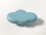 Bouton de meuble bleu Nuage