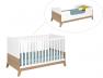 Lit bébé évolutif Archipel 70x140 avec son évolution