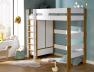 Armoire chambre enfant sous lit mezzanine