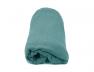 Drap housse Jersey blanc bleu Bio 90x140