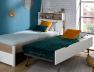 Tiroir lit gigogne enfant Nomade. Complétez avec le lit et la tête de lit Nomade.