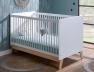 Lit bébé couchage 70x140 à barreaux