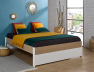 Lit 2 places + Tête de lit Nomade 160x200 cm. Tiroir lit a découvrir sur le site.