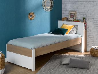 Lit enfant avec tête de lit fabriqué en France
