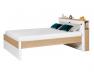 Lit 2 places + Tête de lit Nomade 140x200 cm.