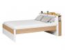 Lit 2 places + Tête de lit Nomade 160x200 cm