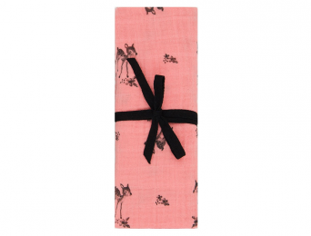 Lange Bianca Faon Rose Flamingo 110x110