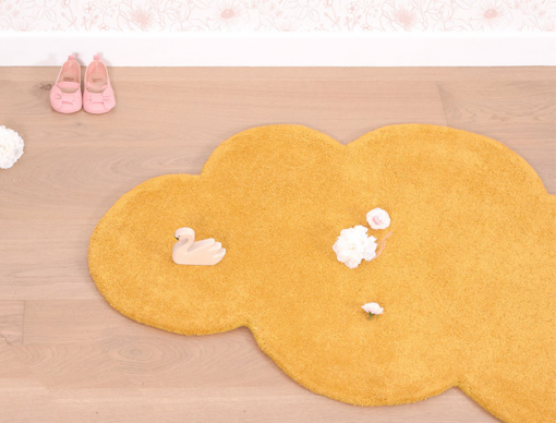 Tapis Nuage Moutarde